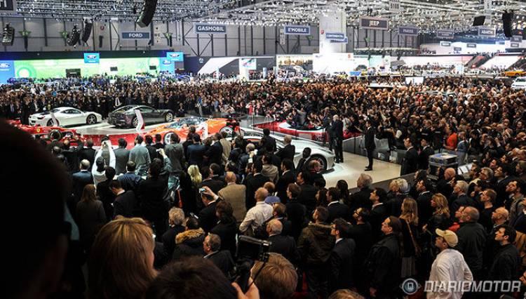 Presentación Ferrari laFerrari Ginebra 2013 stand