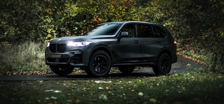 Manhart Bmw X7 Mh650 Dirt P