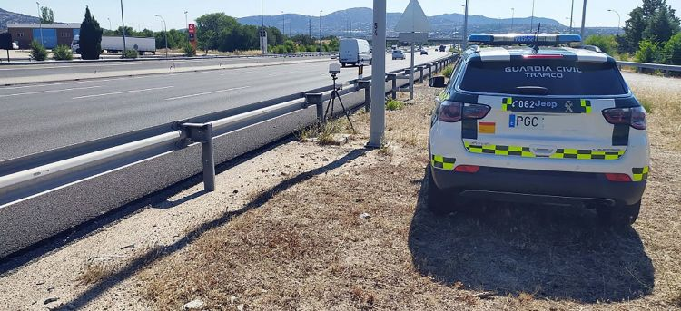 Margen Error Radares Patrulla Control Guardia Civil