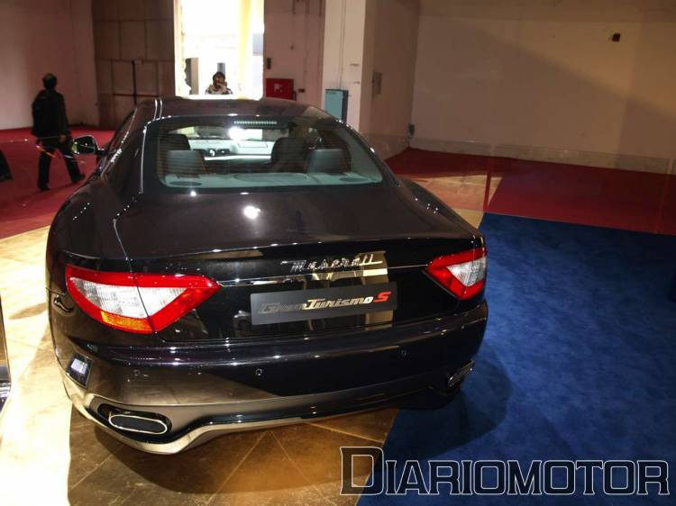 Maserati Gran Turismo S en el Salón de Barcelona