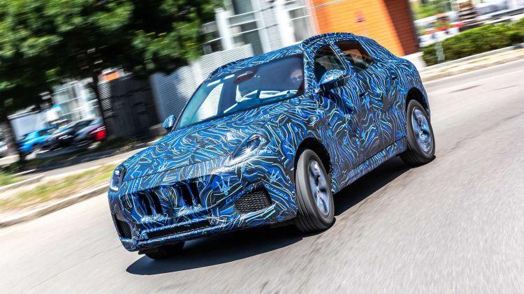 Maserati Grecale 2021 Prototipo 1021 01