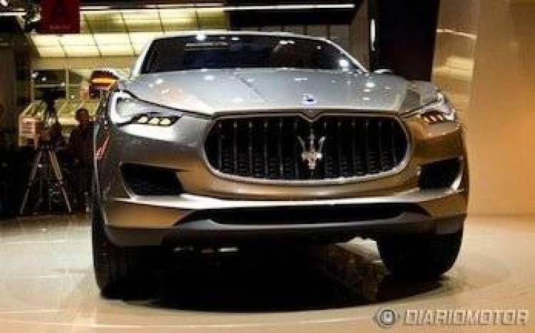 Maserati Kubang en el Salón de Frankfurt