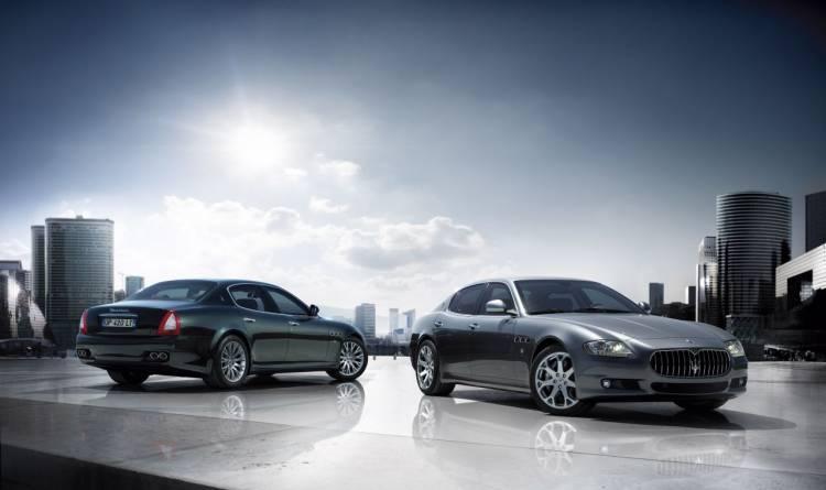 Maserati Quattroporte S y Maserati Gran Turismo S