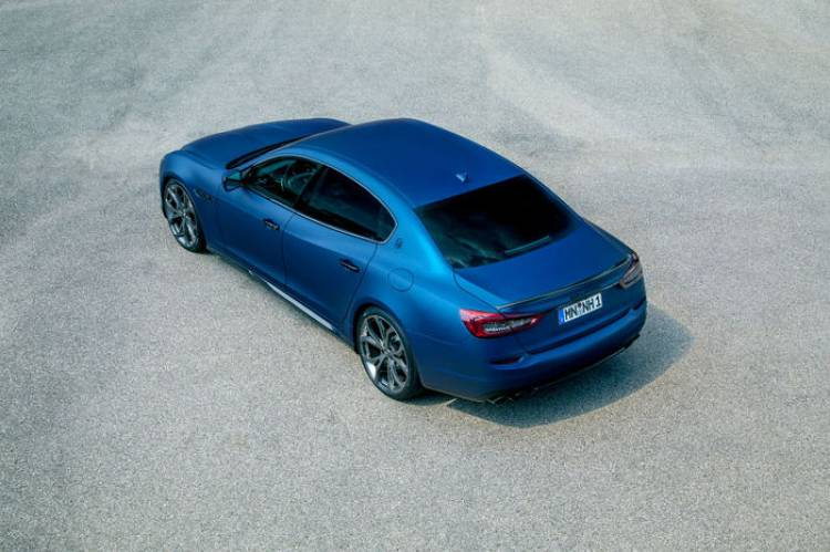 Maserati Quattroporte por Novitec