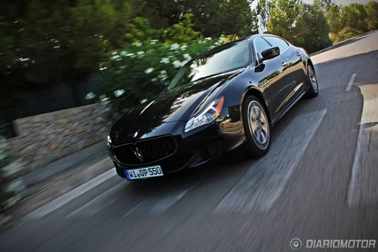Prueba del Maserati Quattroporte