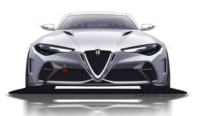 Master Diseno Automoviles Alfa Giulia