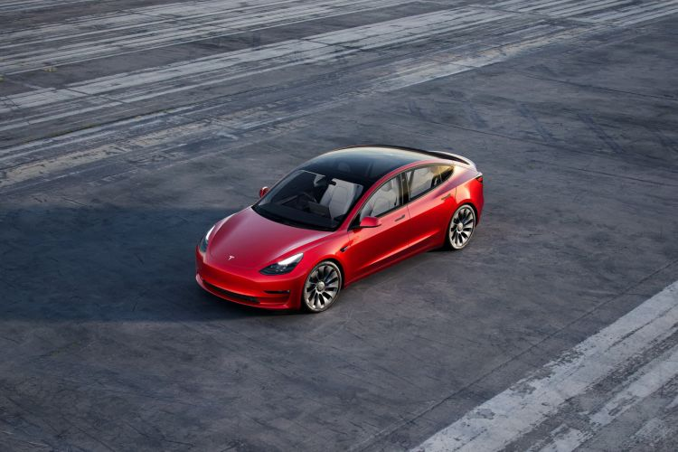 Matriculaciones Septiembre 2021 Tesla Model 3
