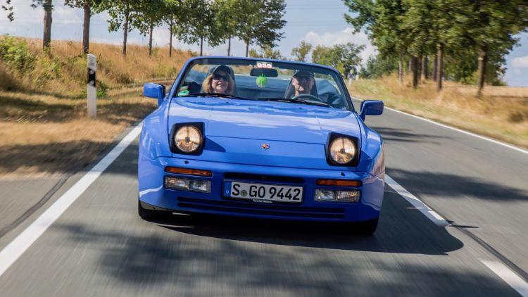 Matricular Vehiculo Historico Porsche 944 Cabrio