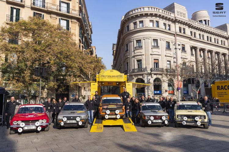 Matricular Vehiculo Historico Seat Rally Cataluna Clasicos