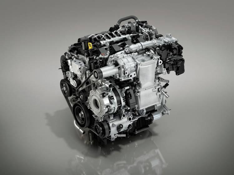 Mazda 3 Skyactiv X 2019 Motor de gasolina