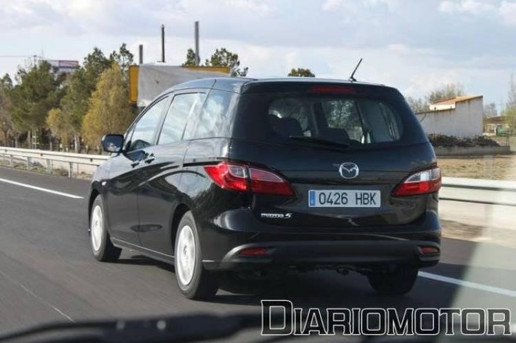 Mazda 5 2.0 DISI y 1.6 CRTD Luxury, a prueba (II)