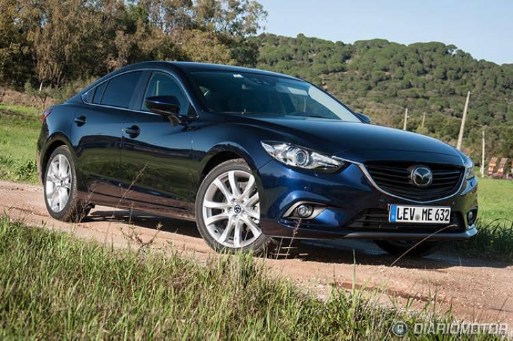 Prueba del Mazda 6 en Portugal