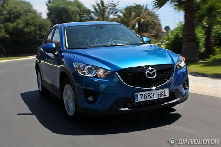 Mazda CX-5 2.2 SKYACTIV-D 150 CV 4WD Style, a prueba