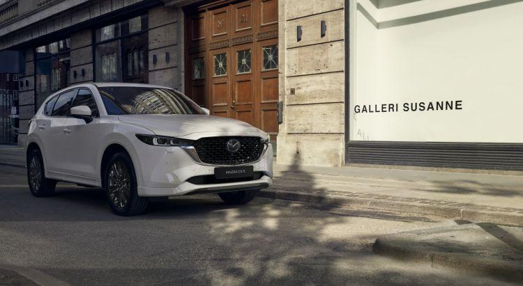 Mazda Cx5 2022 Blanco 01