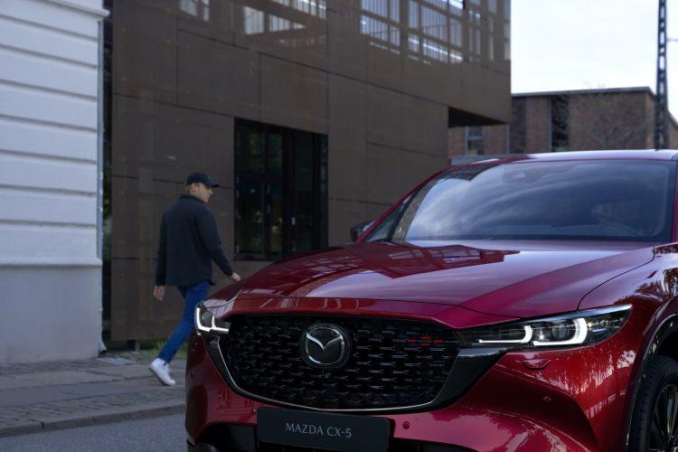 Mazda Cx5 2022 Soul Red 010