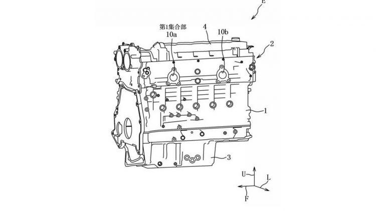 Mazda Motor 6 Cilindros 1