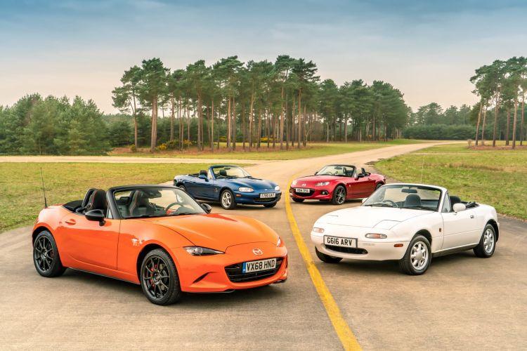 Mazda Mx 5 Generaciones Na Nb Nc Nd