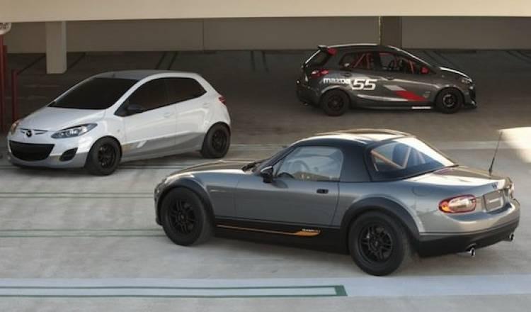 Mazda MX-5 Super20 y Mazda2 Evil Track