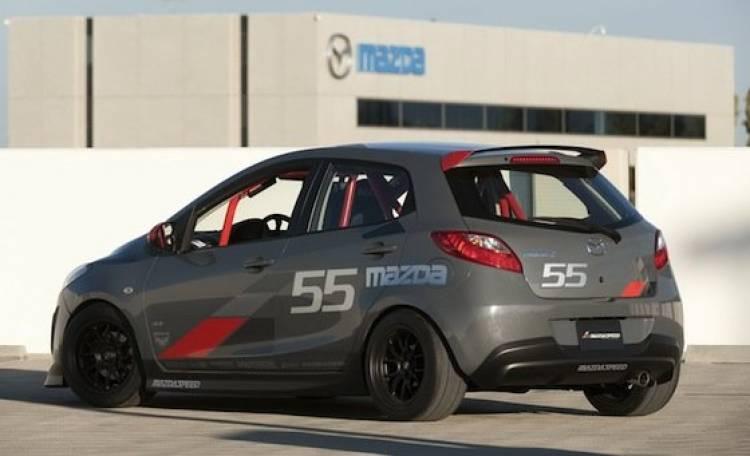 Mazda2 Evil Track