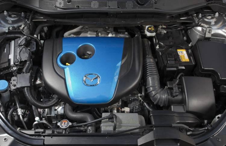 Motor Mazda Skyactiv