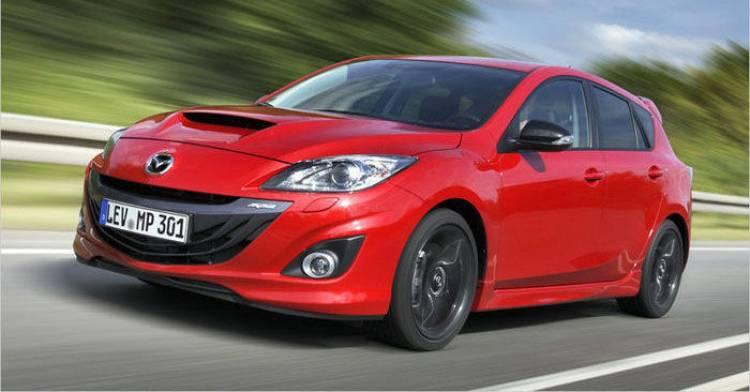 El nuevo Mazda 3 MPS podría contar con tracción total