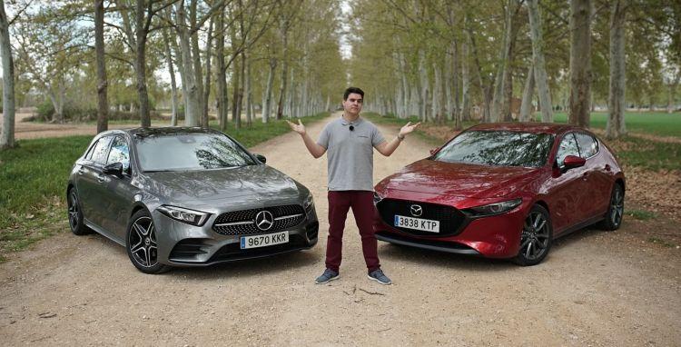 Mazda3 Vs Mercedes Clase A Comparativa 0419 01