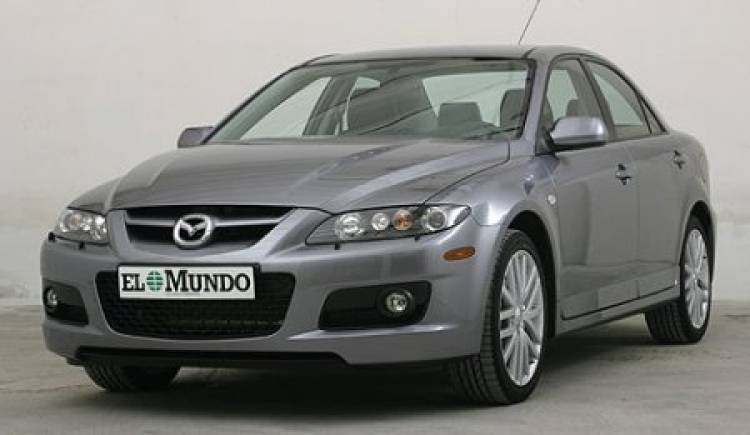 mazda6 2 3 turbo la berlina deportiva de la marca nipona. Black Bedroom Furniture Sets. Home Design Ideas