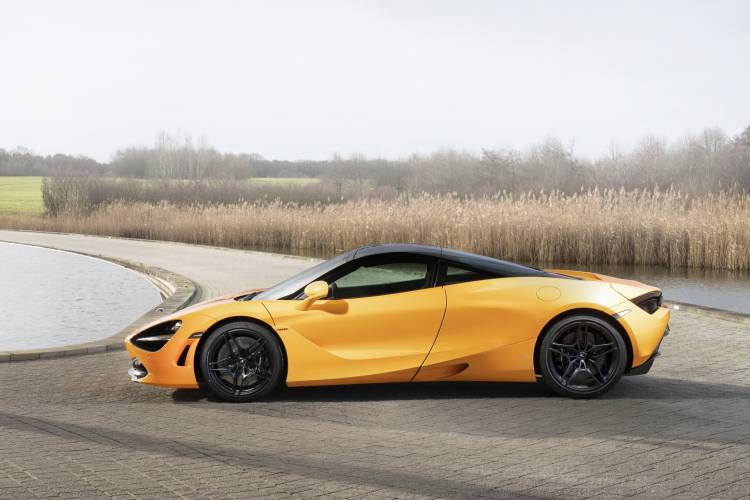 Mclaren 720s Spa 68 Collection Side