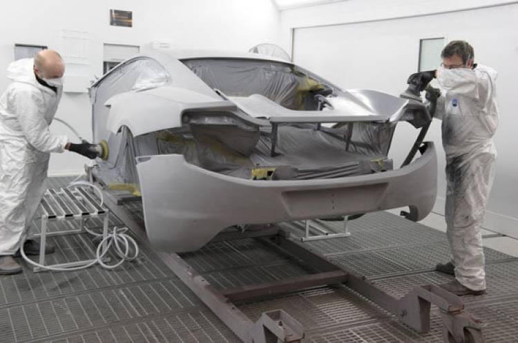 McLaren Mp4-12C fabricación