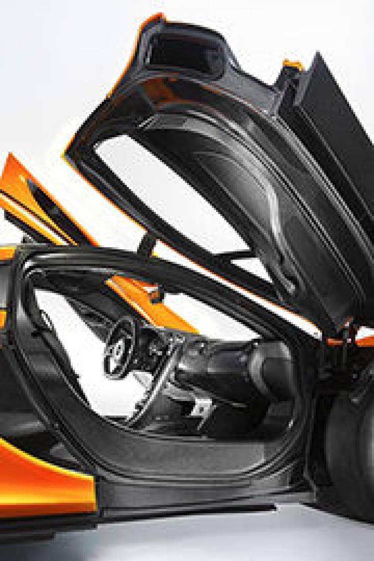 Interior del McLaren P1