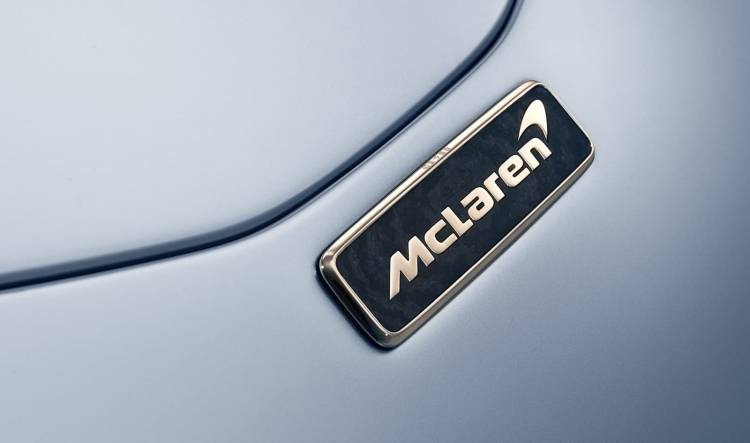 Mclaren Speedtail Logotipo 1018 01