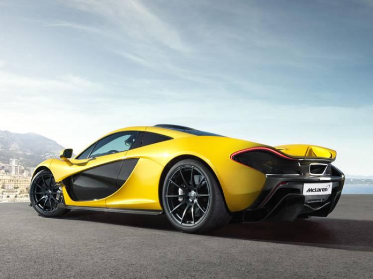 McLaren P1: primeras imágenes del modelo de producción