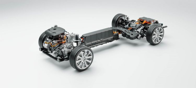 Technical Cutaway Volvo Cars' New Recharge Plug In Hybrid Powertrain
