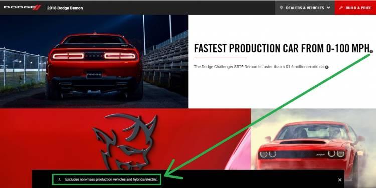 Mensaje Legal Dodge Challenger Srt Demon 4