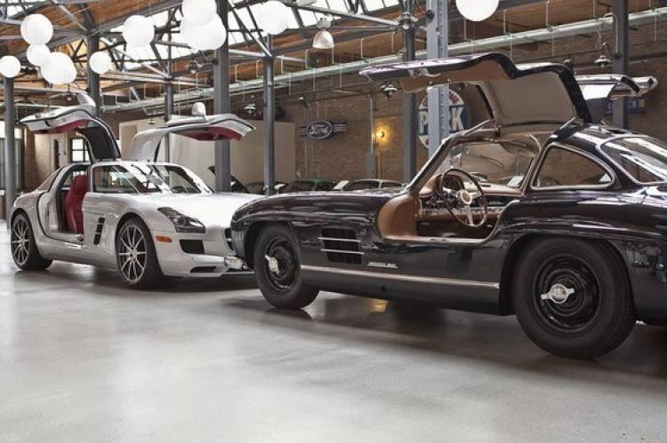Mercedes 300 SL y SLS AMG, clásicos frente a frente