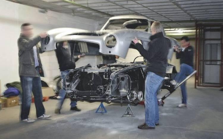 Mercedes 300SL réplica