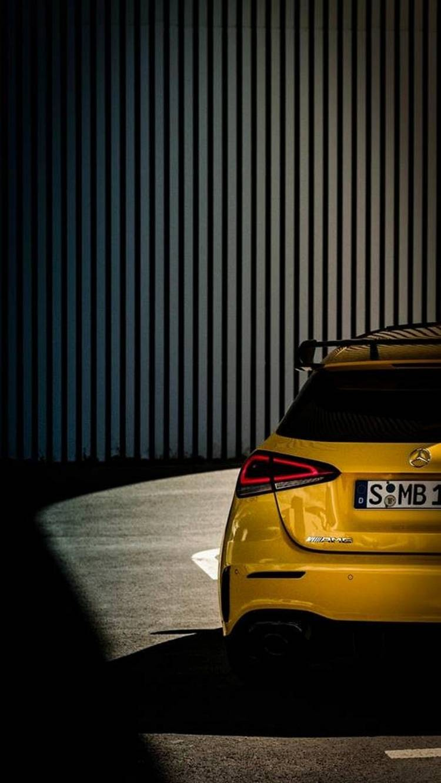 Mercedes Amg A 35 Teaser 7