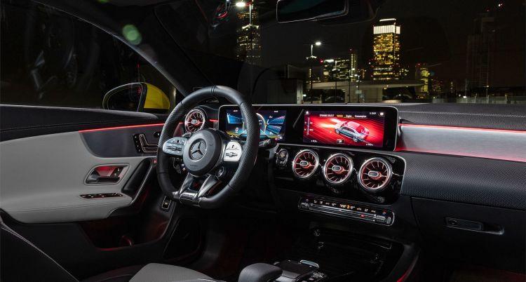 Mercedes Amg Cla 35 2019 Amarillo 04