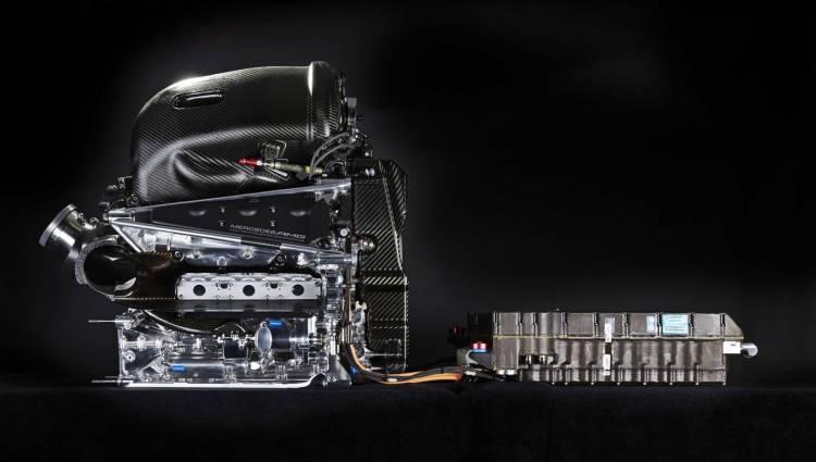 Motor Mercedes Amg One