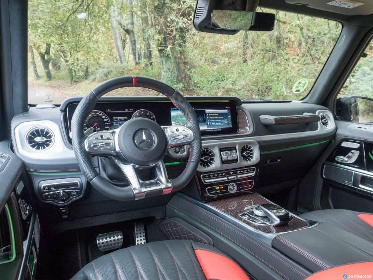 Mercedes Amg G 63 Interior 00009