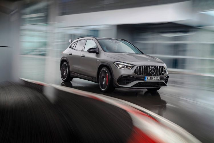 Der Neue Mercedes Amg Gla 45 4matic+: Kompaktes Performance Suv Für Alle Lebenslagen The New Mercedes Amg Gla 45 4matic+: A Compact Performance Suv To Suit Any Lifestyle