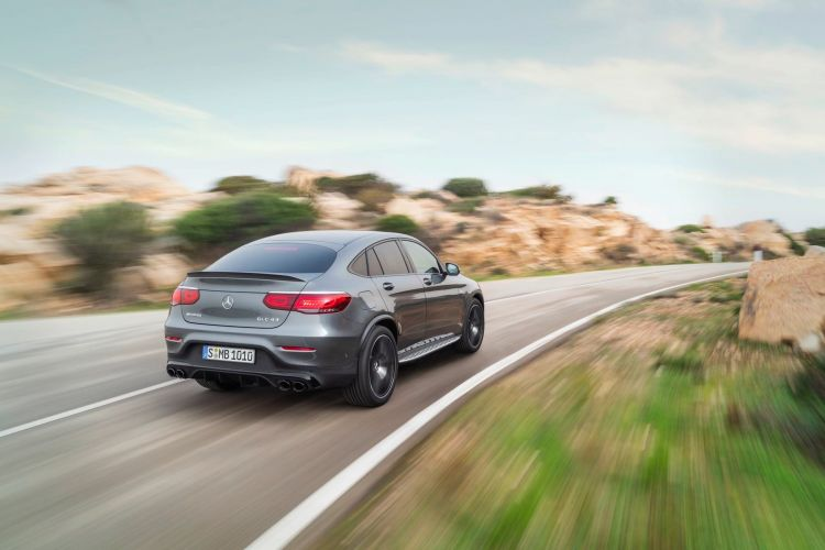 Die Neuen Mercedes Amg Glc 43 4matic Modelle The New Mercedes Amg Glc 43 4matic Models: More Agile And More Distinctive: Chocks Away For The Dynamic Duo