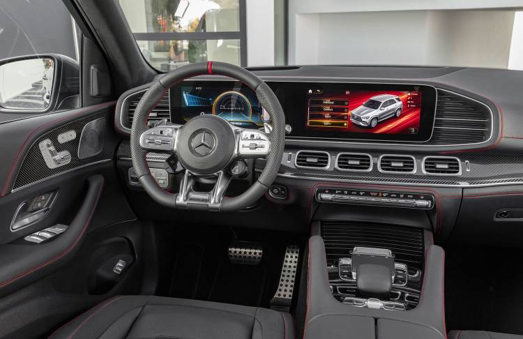 Mercedes Amg Gle 53 4matic 2019 Interior 03