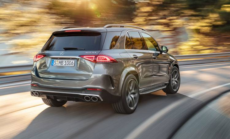 Mercedes Amg Gle 53 4matic 2019 Trasera Exterior
