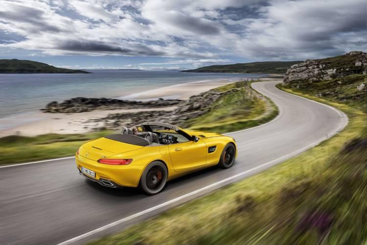 Der Neue Mercedes Amg Gt S Roadster: Open Air Zuwachs Für Die Amg Gt Familie