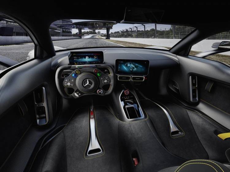 Interior Mercedes Amg One