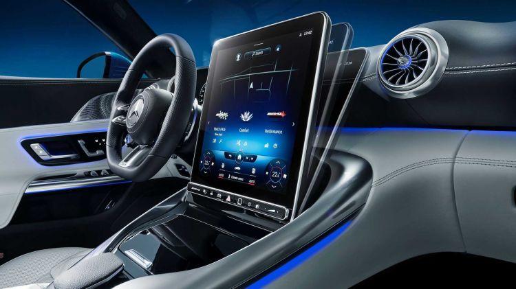 Mercedes Amg Sl Interior 01