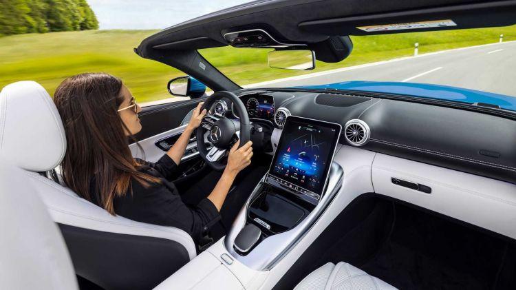 Mercedes Amg Sl Interior 04