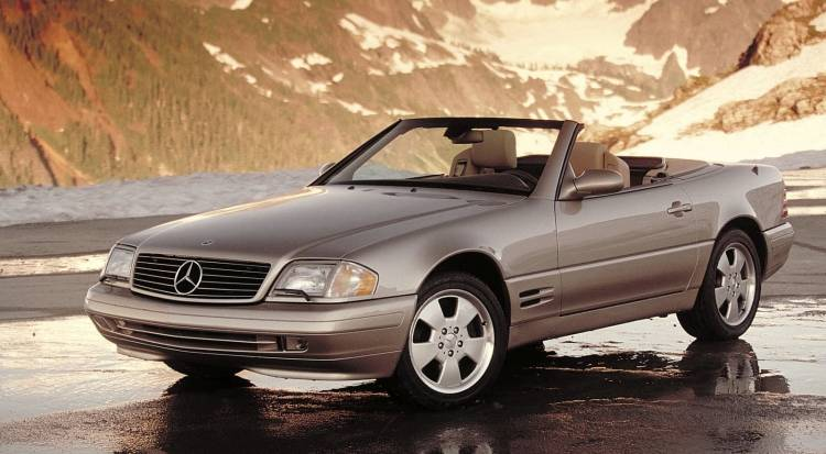 Mercedes Benz Sl 1218 02