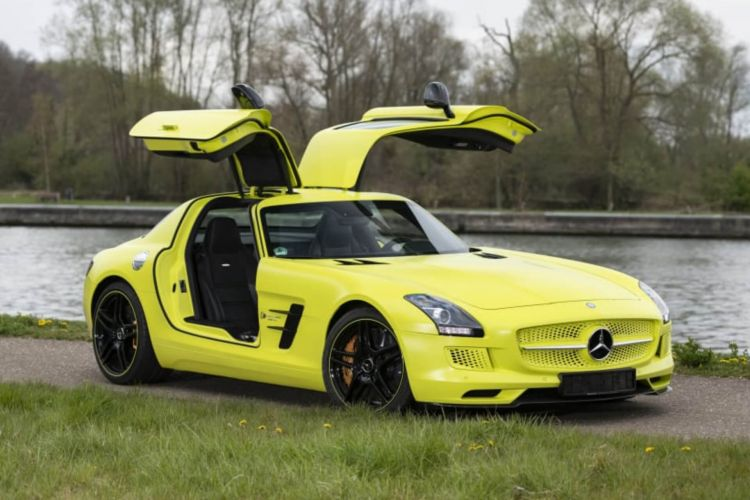 Mercedes Benz Sls Amg Electric Drive 02
